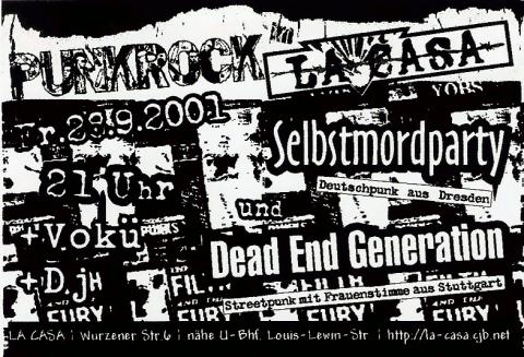 Flyer zum 28. September 2006