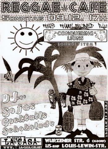 Plakat zum 9. Dezember 2001