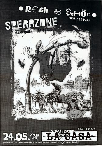 Plakat zum 24. Mai 2002