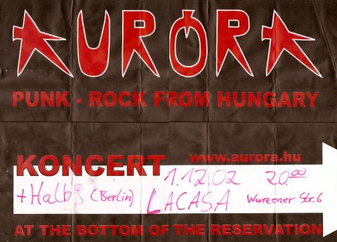 Plakat zum 1. Dezember 2002