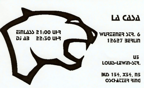 Rückseite des Flyers zum 24. Januar 2003