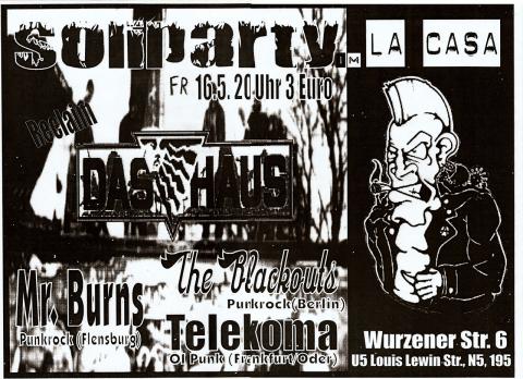 Plakat zum 16. Mai 2003