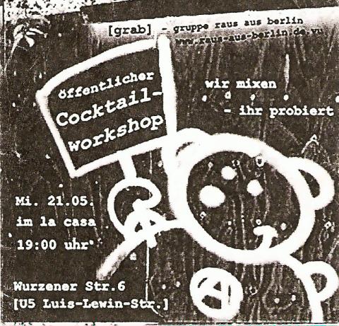 Flyer zum 21. Mai 2003