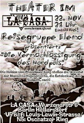 Flyer zum 22. November 2002