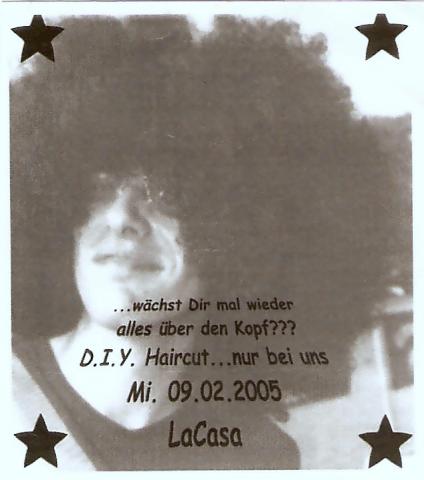 Flyer zum 9. Februar 2005