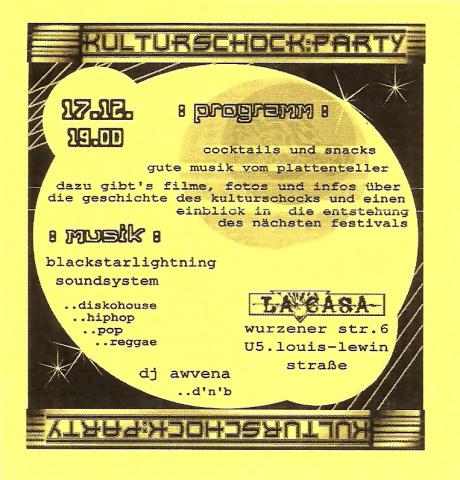 Flyer zum 17. Dezember 2005