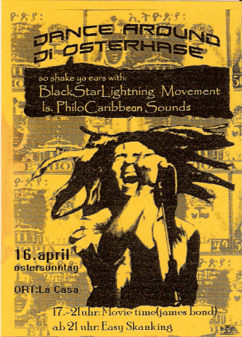 Flyer zum 16. April 2006