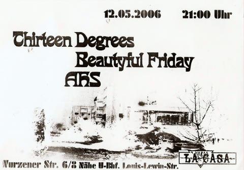 Flyer zum 12. Mai 2006