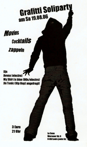 Flyer zum 19. August 2006