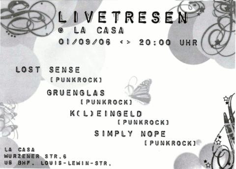 Flyer zum 1. September 2006