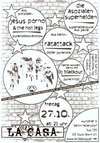 Plakat zum 27. Oktober 2006