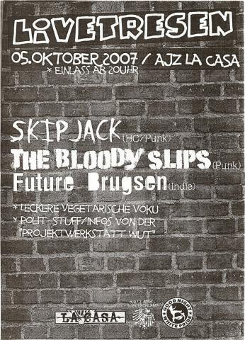 Flyer für den 5. Oktober 2007
