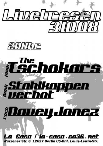 Flyer zum 3. Oktober 2008