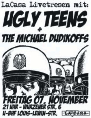 Flyer zum 7. November 2008