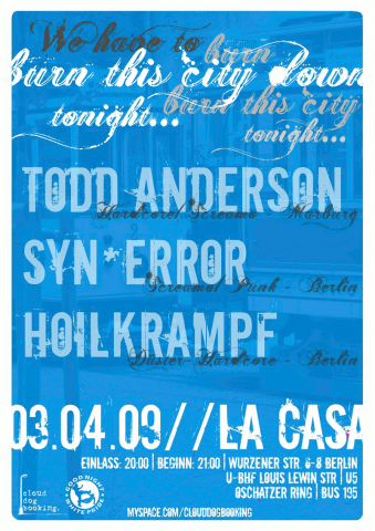 Flyer zum 3. April 2009