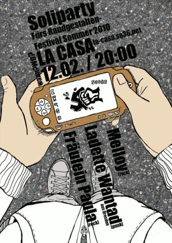 Flyer zum 12. Februar 2010