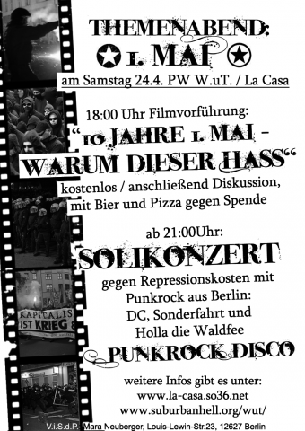 Flyer zum 24.April 2010
