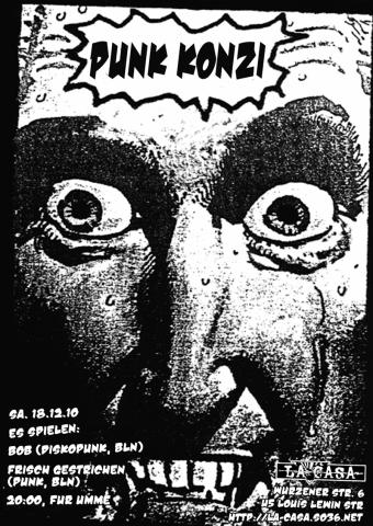 Flyer zum 18. Dezember 2010