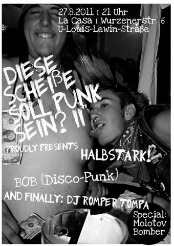 Flyer zum 27. August 2011