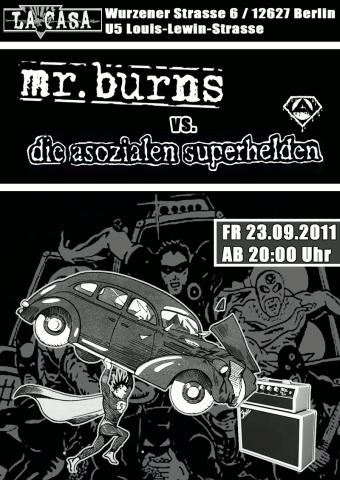 Flyer zum 23. September 2011
