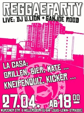 Flyer zum 27. April 2012
