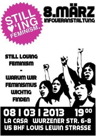 Flyer zur Infoveranstaltung am 8. März 2013