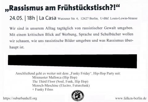 Flyer zum 24.5.2013