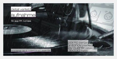 Flyer zum 10. August 2013