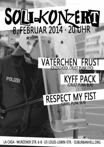 Flyer zum 8. Februar 2014