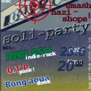 Flyer zum 23. Juni 2001