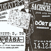Flyer zum 14.Dezember 2001
