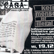 Plakat zum 19.12.2001