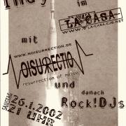 Plakat zum 26. Januar 2002