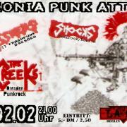 Flyer zum 8. Februar 2002
