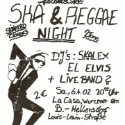 Flyer zum 6. April 2002