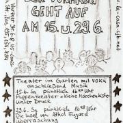 Flyer zum 15. und 29. Juni 2002