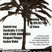 Flyer zum 16. September 2002