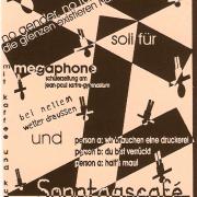 Flyer für den 2. März 2003