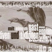 Flyer zum 27. April 2003