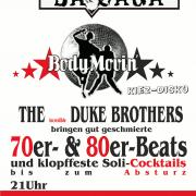 Flyer zum 8. November 2003