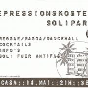 Plakat zum 14. Mai 2004
