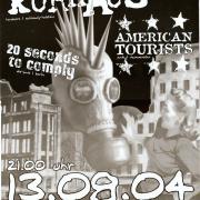 Flyer zum 13. August 2004