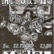 Flyer zum 22. Januar 2005