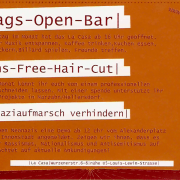Flyer des ABM vom April 2005