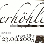 Flyer zum 23. September 2005