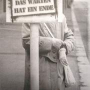 Flyer für den Montagstresen aus 2006