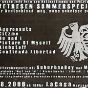 Flyer zum 4. August 2006