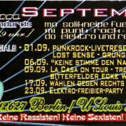 Flyer für den September 2006