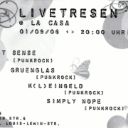 Flyer zum 1. September 2006