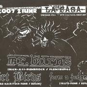 Flyer für das Konzert am 19. Januar 2007